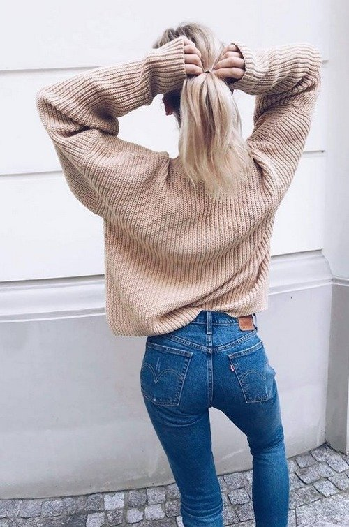 SWETER NO.5 NUDE