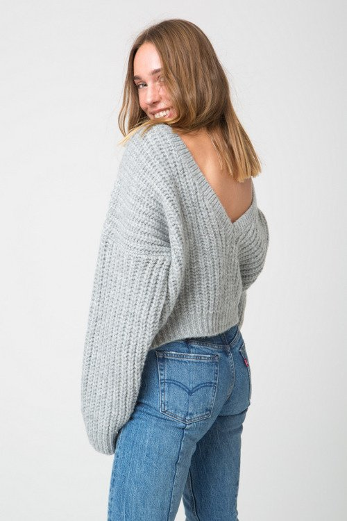 SWETER ROCKET GRAY